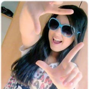 Girls dp  (happy style)