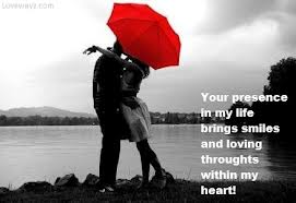 Romantic Message With Poster Enjoy Cool Message